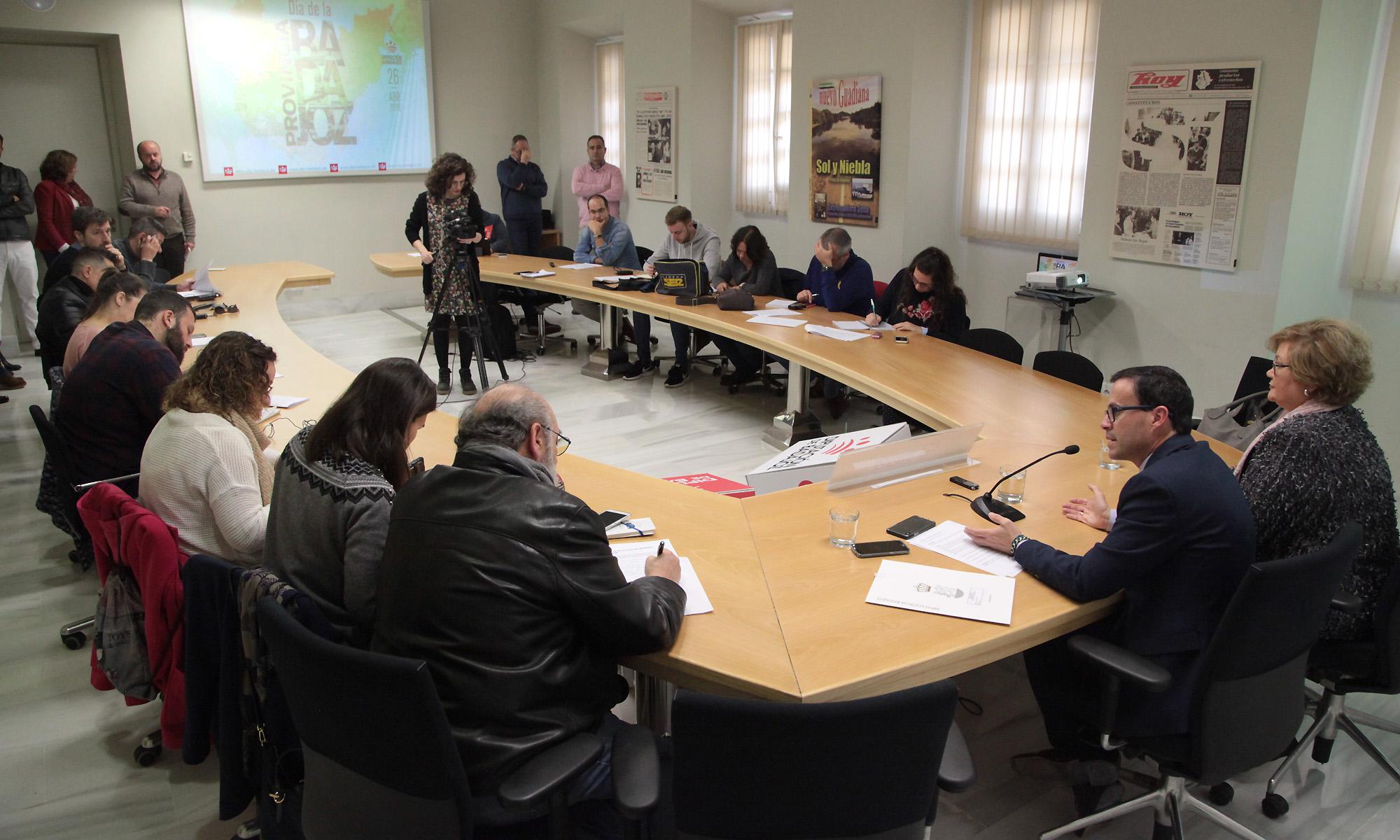 Rodríguez Ibarra, Inocencia Cabezas y Atanasio Naranjo, Medallas de Oro del I Día de la Provincia